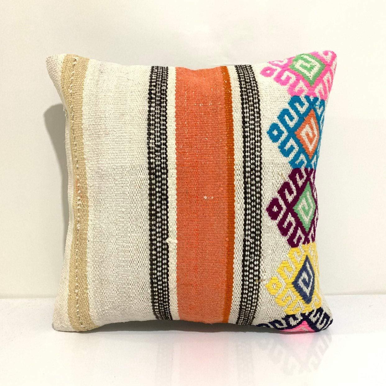 Custom It is very popular Kilim Pillow Cover 16x16-Decorative Topics on TV Pillow-Unique Home De
