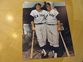 mickey mantle roger maris autographed photo