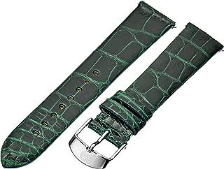 MICHELE Women's MS18AN010300 Analog Display Green Watch Band