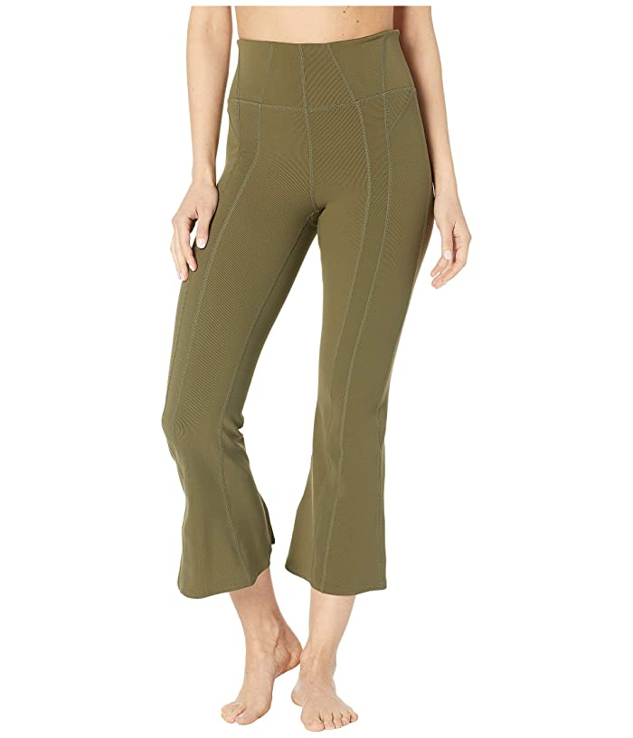 Free People Movement High-Rise Lyla Flare Pants (Army) Women