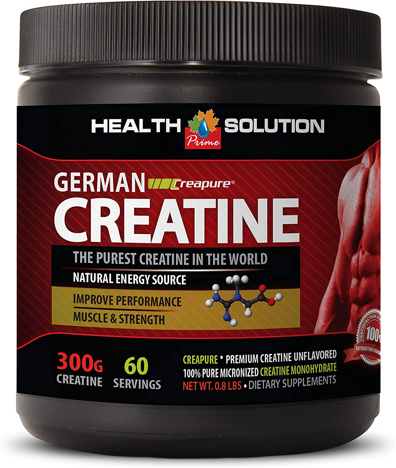 pre Workout Spring new work Natural Caffeine Free German CREAPURE CREATINE D - Special Campaign