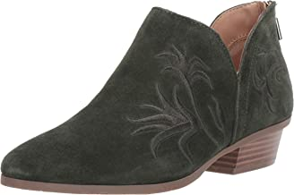 Kenneth Cole REACTION Women's Side Gig Tonal Embroidered Ankle Bootie Boot