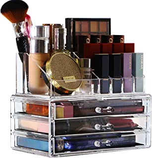 Cq موارد ذخیره سازی آرایشی و بهداشتی آکریلیک ، برترین های متعال به عنوان یک برس و آرایشگر رژلب و دارنده رژ لب توسط KLGO