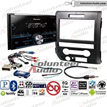 Pioneer MVH-S400BT Double Din Radio Install Kit With Sirius XM Ready, CD Player, USB/AUX Fits 2009-2014 F-150