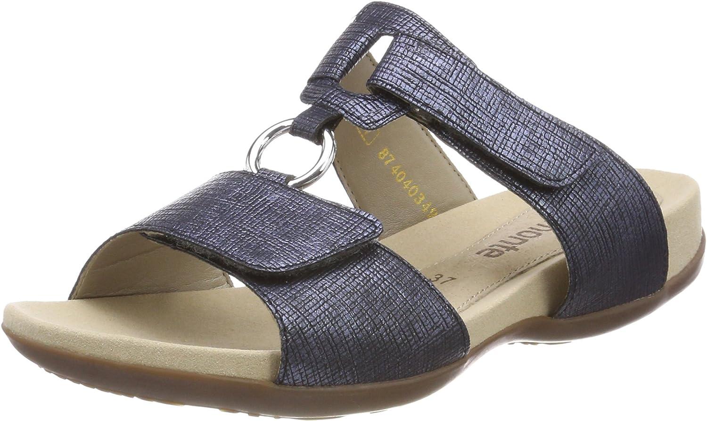 Remonte Womens-Pantolette - F blue 900538-5