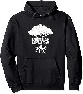 Roots - Native American Ojibwe Pride Chippewa Pullover Hoodie