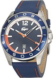 Lacoste Men's Blue Dial Silicone Band Watch - 2010928