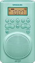 Sangean H205TQ AM/FM Weather Alert Waterproof Shower Radio Turquoise
