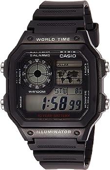 Casio World Time Digital Chronograph Men's Watch