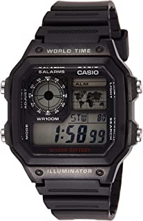 Casio for Men - Digital AE-1200WH-1AVEF Resin Watch