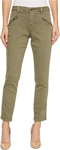 Jag Jeans - Ryan Skinny Colored Knit Denim in Silver Pine