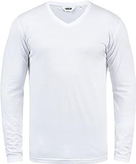 !Solid Cornelio Herren Longsleeve Langarmshirt Shirt mit V-Ausschnitt