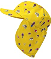 All Over Print Cap w/ Neck Cover (Little Kids)