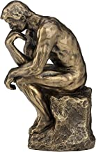 Rodin the Thinker Statue Fine Art Sculpture Male Nude Figure 5 3/4 inches high