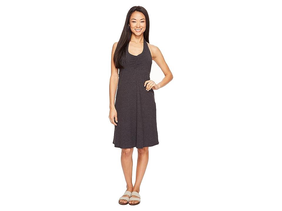 Prana Beachside Dress (Black) Women