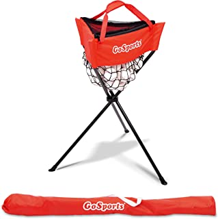 GoSports Baseball & Softball Ball Caddy with Carrying Bag