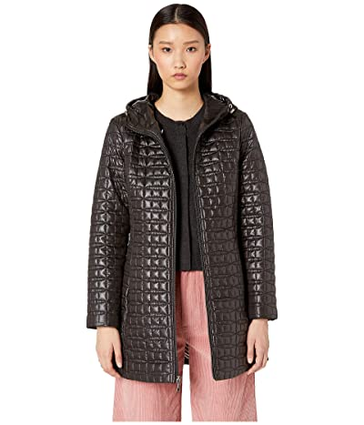 Kate Spade New York Quilted Jacket (Black) Women