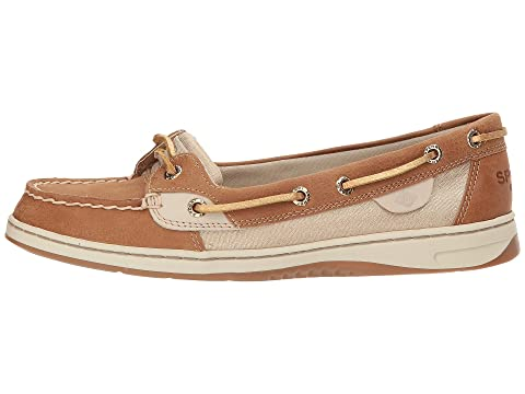 Angelfish Sperry Metallic Sperry Angelfish LinenNavyOatmeal gq180O8wn