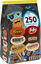 HERSHEY'S Bulk Halloween Chocolate Candy Variety Mix, (HEATH, HERSHEY'S, KIT KAT, MILK DUDS, REESE'S, WHOPPERS) 81.4 Ounce