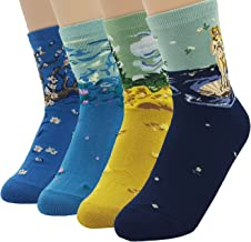 JJMax Women's Art Masterpiece Painting Collection Socks Set One Size Fits All