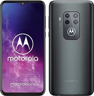 Motorola One Zoom Dual-SIM 128GB Factory Unlocked 4G/LTE Smartphone (Electric Grey) - International Version