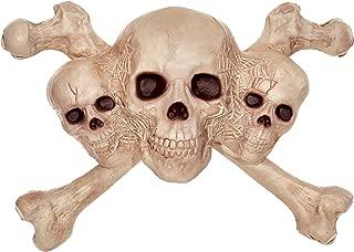 Crazy Bonez Skull & Crossbones Wall Decoration