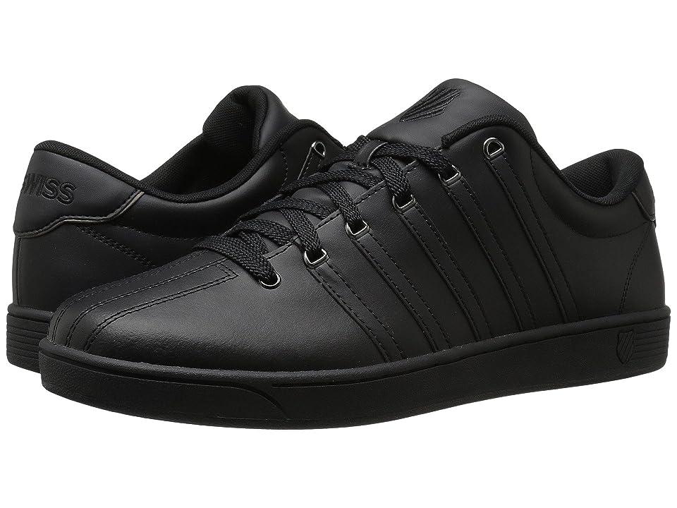 K-Swiss Court Pro II CMF (Black/Gunmetal Leather) Men