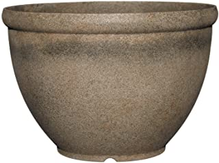 "Classic Home and Garden 52-039T Bellina 12"" Planter"", Fossil Stone"