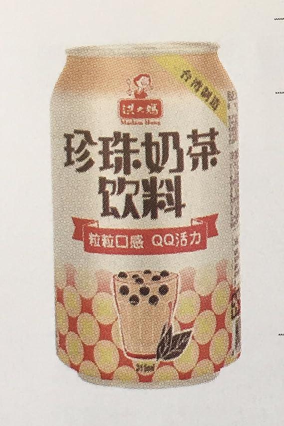 吸収剤ペースト慈悲台湾洪大媽珍珠奶茶飲料(タピオカ入りミルクティー)315ml*48缶