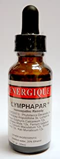 Energique Lymphapar Hemeopathic Remedy 1oz Support Lymph Drainage and Spleen Function