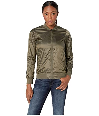 The North Face Meaford Bomber Jacket (Shiny New Taupe Green) Women