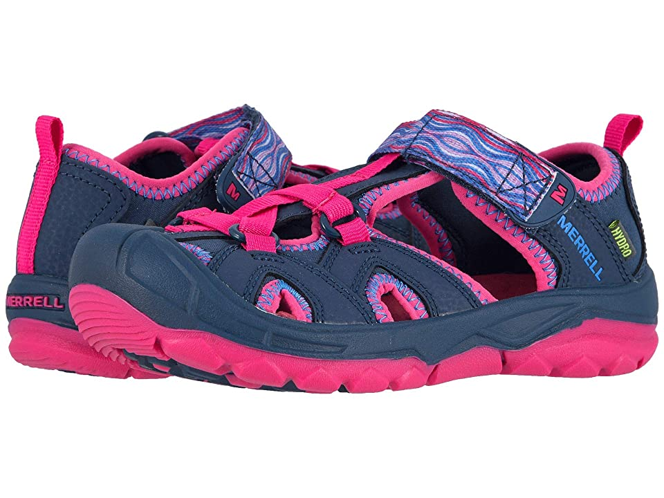 Merrell Kids Hydro (Toddler/Little Kid/Big Kid) (Navy/Pink) Girls Shoes