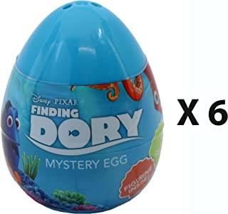 Disney Pixar Finding Dory Mini Figure Mystery Eggs - Party Favour Bag Pack of 6
