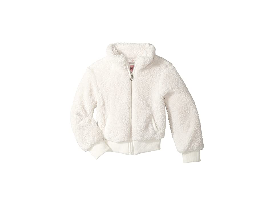 Urban Republic Kids Woobie Bomber Jacket (Little Kids/Big Kids) (Ivory) Girl