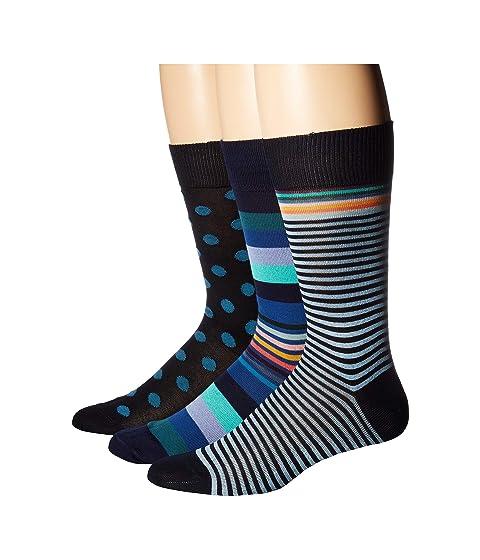 Paul Smith 3-Pack Stripes & Dots Socks