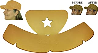 2Pk. Military or Cadet Hat Crown Half Shaper| Army Cap Shaper| Hat Liner| Hat Panel Support Insert| Hat Reducer| Brim and Crown Hat Care Accessories| Hat Storage| Hat Crown Sizing Inserts