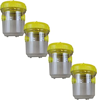Grandpa Gus's Wasp Nest Trap - Lures Hornet, Yellow Jacket, Bees Control (4PK)