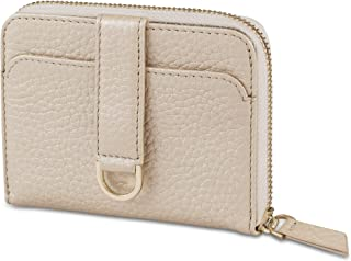 Vaultskin BELGRAVIA women's zip around small RFID wallet