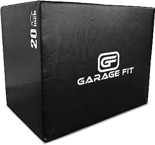 Garage Fit Wood Plyo Box - 30/24/20,  24/20/16,  24/20/18,  16/14/12-3 in 1 Plyo Box,  Essential for Plyometrics Training