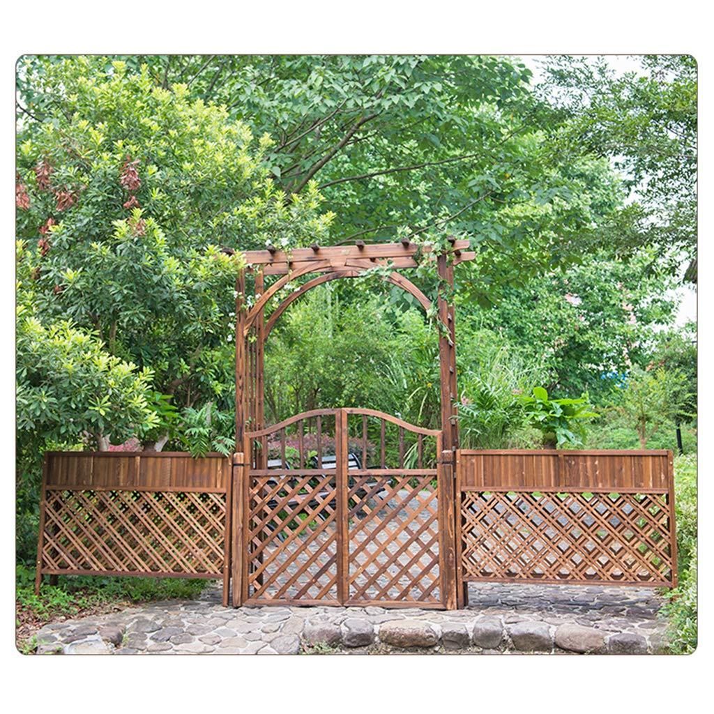 XLOO Garden Arch with Gate, Decoraciones para Bodas al Aire Libre, 89