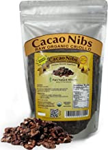 PURE NATURAL MIRACLES Cacao Nibs Raw Organic from Superior Cocoa Beans, 1 lb
