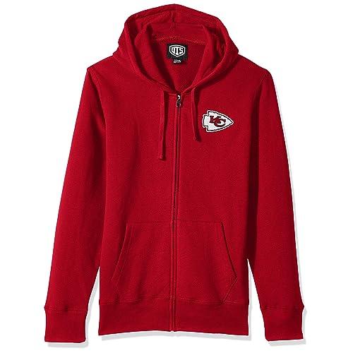 Kansas City Chiefs Thicken Hoodie winter warm Jacket Luminous Coat Sweatshirt