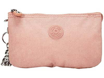 Kipling Creativity Large Pouch (Galaxy Twist Pink) Clutch Handbags