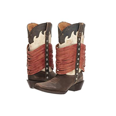 Durango Dream Catcher 12 Wrapped Fringe (Americana) Cowboy Boots