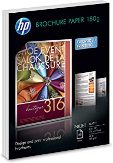 HP Brochure Paper | Matte Professional | 8.5x11 | 50 sheets