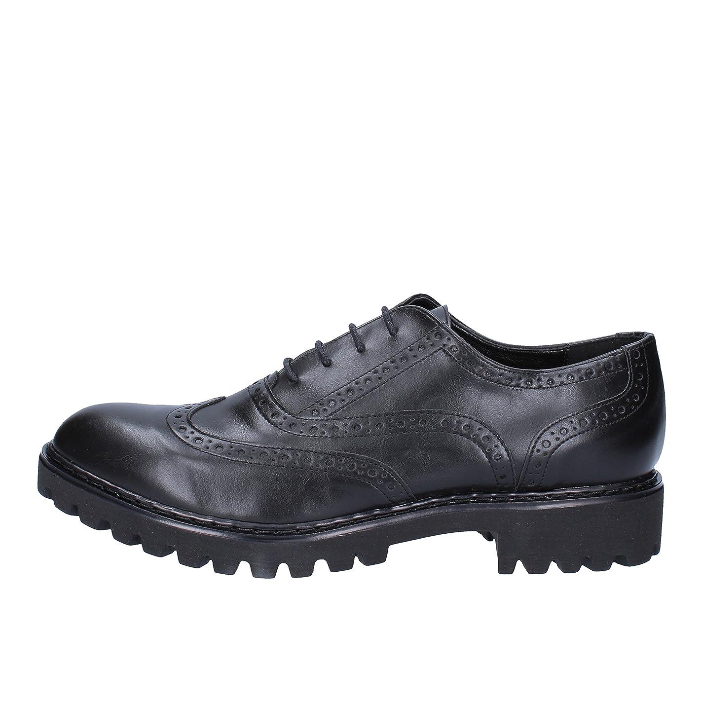 外交前任者不倫[OLGA RUBINI] 古典的な女性の靴 レディース レザー ブラック
