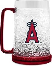 Los Angeles Angels Crystal Freezer Mug W Primary Logo 16 Oz