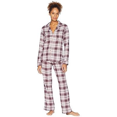 UGG Raven Woven Sleepwear Set Flannel Gift (Port Plaid) Women