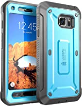 Galaxy S7 Active Case, SUPCASE Full-Body Rugged Holster Case with Built-in Screen Protector for Samsung Galaxy S7 Active, Unicorn Beetle PRO Series (Not Compatible with Galaxy S7) (Blue/Black)
