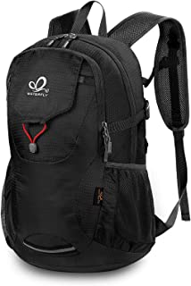 WATERFLY Travel Hiking Backpack 40L: Packable Lightweight Water Resistant Bag with Adjustable Chest Strap for Hiking Climb...